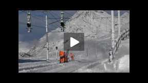 Winter on the Bernina Pass