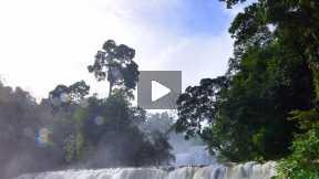 Tinuy-An Falls in Bislig, Surigao Del Sur
