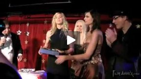 Jackie Warner from Bravo fitness tv show gets an award for her work