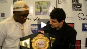 Prince Pat Martial Arts Champion at The New york internatioanal Film Festival