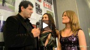Greta Zenelaj  interviewed at the NY premier of her new film