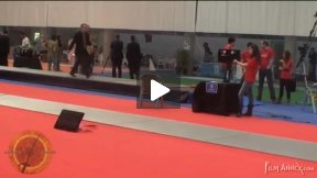 Madrid World Cup 2011 - L64 - Buikevich BLR v Lopez FRA