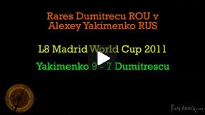Madrid World Cup 2011 - L8 - Dumitrescu ROU v Yakimenko RUS (Partial)