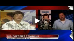 My Fun Mr. Popper's Penguins Interview with Animal Trainer!
