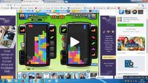 Playing Tetris on Facebook