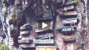 Why Sagada Has Hanging Coffins
