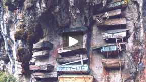 Why Sagada Has Hanging Coffins