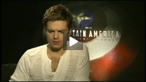 Sebastian Stan (Bucky Barnes) Talks About CAPTAIN AMERICA: THE FIRST AVENGER