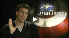 Chris Evans Talks About CAPTAIN AMERICA: THE FIRST AVENGER