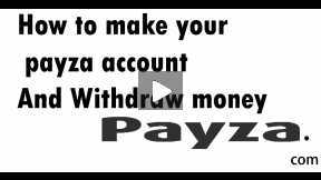 How to withdraw money from Payza account! Specially where paypal not works