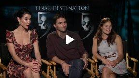 FINAL DESTINATION 5 Interviews with Jacqueline McInnes Wood, Miles Fisher, Ellen Wroe