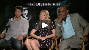 FINAL DESTINATION 5 Interviews with Nicholas D'Agosto, Emma Bell, Tony Todd