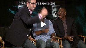 My Funny FINAL DESTINATION 5 Interviews with P.J. Byrne, Arlen Escarpeta, Courtney B. Vance