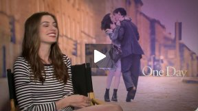 "Anne Hathaway Interview for ""One Day"""
