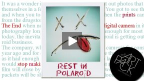 Rest In Polaroid