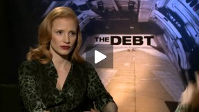 Jessica Chastain Interview for THE DEBT
