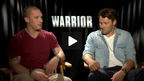 """Tom Hardy and Joel Edgerton Interview for """"WARRIOR"""""""