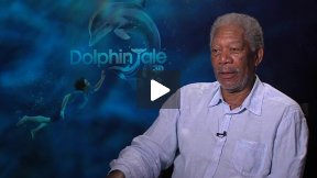 "Morgan Freeman Talks About ""Dolphin Tale"""