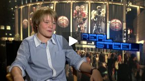 "Dakota Goyo Talks About ""Real Steel!""  He Taught Me How to Robot Dance!"