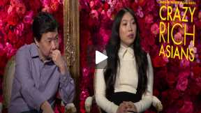 "Awkwafina & Ken Jeong Talk ""Crazy Rich Asians"""