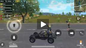 Pubg Mobile experiment - Ride 4 people in buggy
