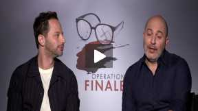 "Nick Kroll & Lior Raz Interview ""Operation Finale"""