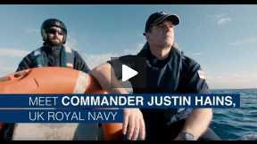 I've got the best job in the world - the British naval Commander - #WeAreNATO