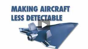 Making aircraft less detectable