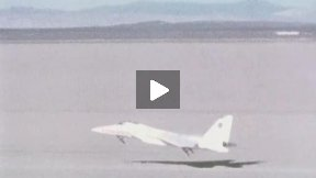 F-15A RPRV Remotely Piloted Flight and Landing