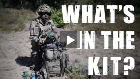 What's in the backpack of a Polish Paratrooper?