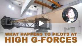 What happens to pilots at high gravitational forces?