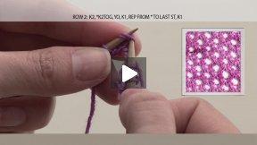 TriCoast Studios Presents: How To Knit A Cellular Stitch!