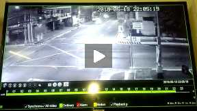 CCTV Footage of Road Accident and God's Miracle
