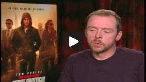 "Simon Pegg Talks About ""Mission: Impossible – Ghost Protocol"""