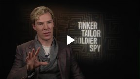 "Benedict Cumberbatch Talks About ""Tinker Tailor Soldier Spy"""