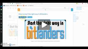Start the right way in Bitlanders Submitted for review