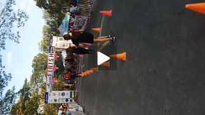 Claek Half Marathon Finish Line