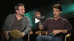 """The Grey"" Interviews with Dermot Mulroney and Dallas Roberts"
