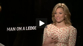 Elizabeth Banks Talks About MAN ON A LEDGE and Her Biggest Fear!