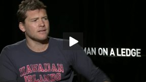 My Fun Interview with Sam Worthington for MAN ON A LEDGE!