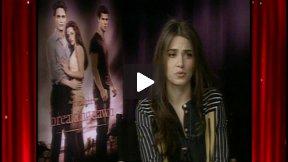 "Nikki Reed Talks About ""The Twilight Saga: Breaking Dawn Part 1"" DVD/Blu-Ray"