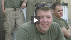Marine Luke Sanford on his Veteran Experience