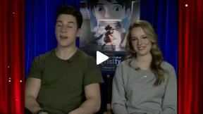 "Bridgit Mendler and David Henrie Interview for ""The Secret World of Arrietty"""