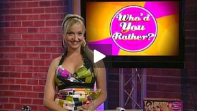 Who'd You Rather? Episode 2.1 Celebrities