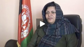 Afghanistan schools for girls and boys - Interviews at Baghnazargah School, Herat