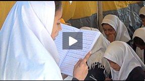 Schooling in Afghanistan - Houz-e-Karbas School, Herat