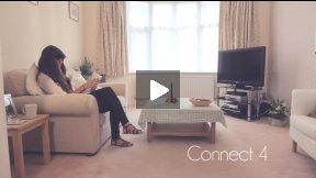 Connect 4 - A short film by London based Independent Filmmaker, Andy Parker