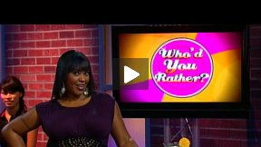 Who'd You Rather? Episode 10.1 Celebrities