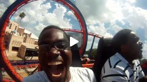564 Miles, Short Video Blog/Doc about Rollercoasters in Florida, by UK based Film maker, Anderson West