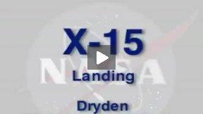 X-15 Landing